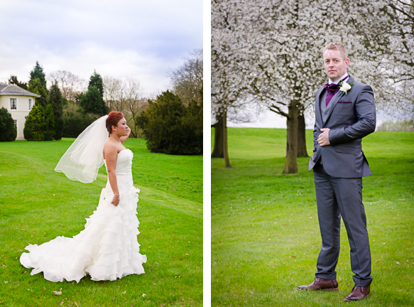 Photos of Bride and Groom alone