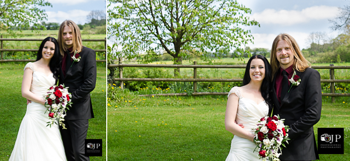 Ashbourne Bride and Groom